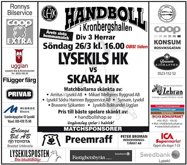 Handboll i Lysekil