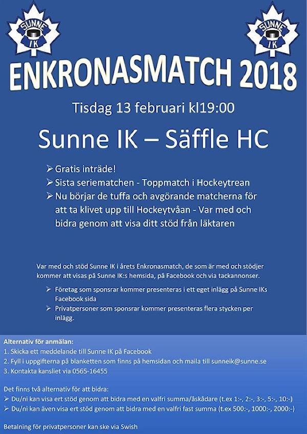 Enkronasmatch 2018