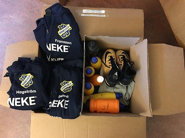Bild | 20 Jun 2018 - 14:31 Kvarglömt från Landslagets Fotbollsskola