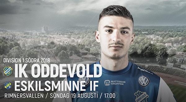Bild | 19 Aug 2018 - 00:55 Leif Lindvärn inför dagens match mot Eskilsminne