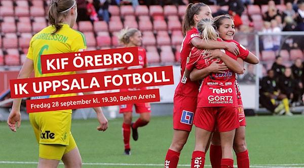 Ny hemmamatch för KIF Örebro  da2e0d777f9db