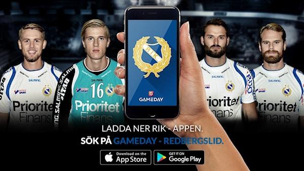 Ladda ner vår nya app | Redbergslids IK P11 (08) | laget.se