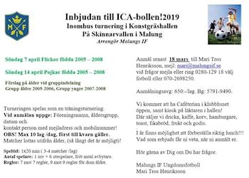 Dax att anmäla sig till ICA-Bollen 2019!!! b58339ba7760b