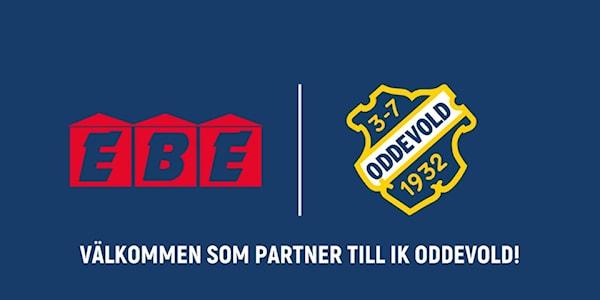 Bild | 17 Jan 2020 - 18:45 EBE-gruppen är välkomna som Premiumpartner till IK Oddevold!