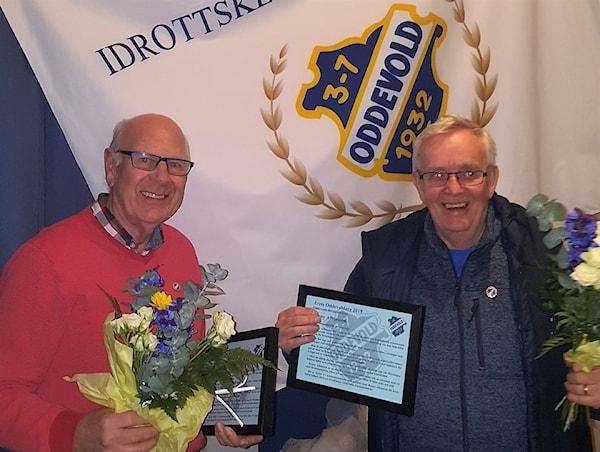 Bild | 27 Feb 2020 - 20:46 Ronny och Sören blev Årets Oddevoldare