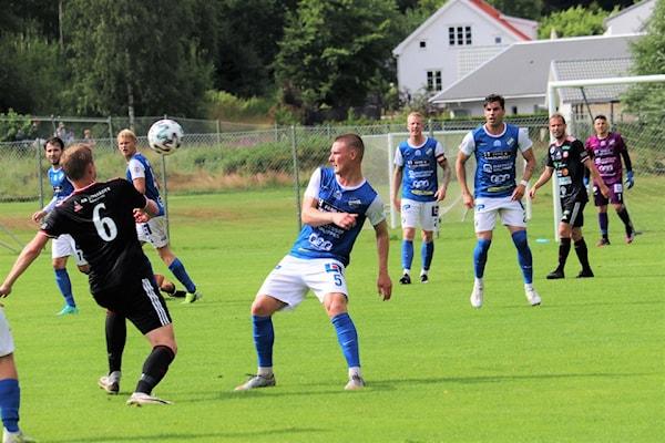 Bild | 15 Jul 2021 - 16:30 Oddevold mot Falkenberg i Svenska Cupen
